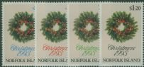 NFI SG556-9 Christmas 1993 set of 4